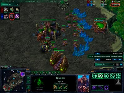 StarCraft 2 Leenocks ZvP All-in: 10 Roach Push