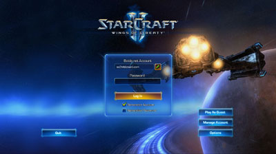 Battle Net 2.0 Login
