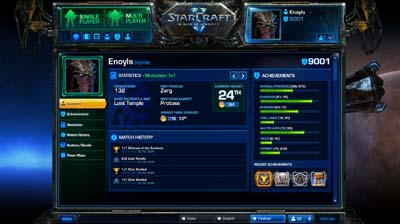 Battle Net 2.0 Profile