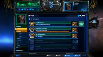 Battle Net 2.0 Achievements