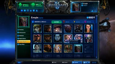Battle Net 2.0 Avatars