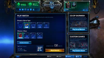 Battle Net 2.0 Matchmaking