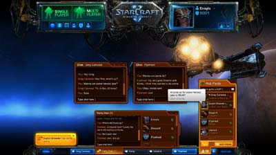 Battle Net 2.0 Social Network