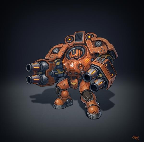 Огнеметчик (Firebat)