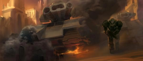 Осадный танк (Siege Tank)