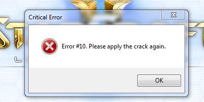 Ошибка 10: переустановите SC2 LotV crack