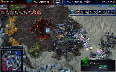 HoTS Launch Event 1v1 Interface