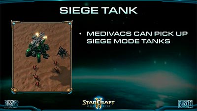 Перевозка Siege Tank  в  Legacy of the Void