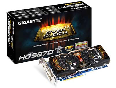 Gigabyte GV-R587SO-1GD Radeon HD 5870 Super Overclock