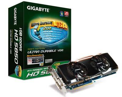 Gigabyte GV-R585OC-1GD Radeon HD 5850 Overclocked