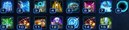Командир Артанис: способности уровней
