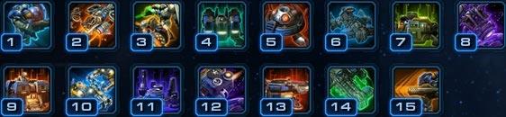 Командир Рейнор: Способности уровней