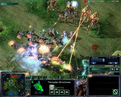 StarCraft II: Wings of Liberty с White-Ra Урок №4. Применяем способности бойцов, изучаем карты и новые тактики