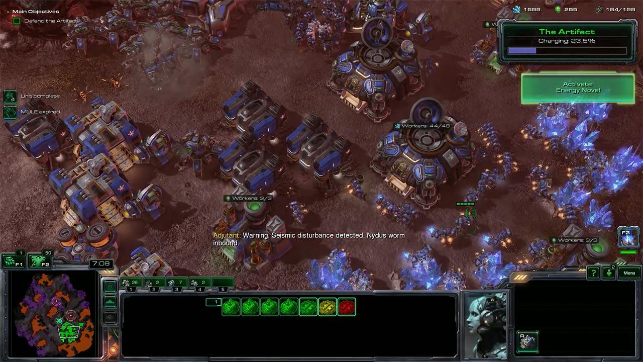 Камера в StarCraft 2
