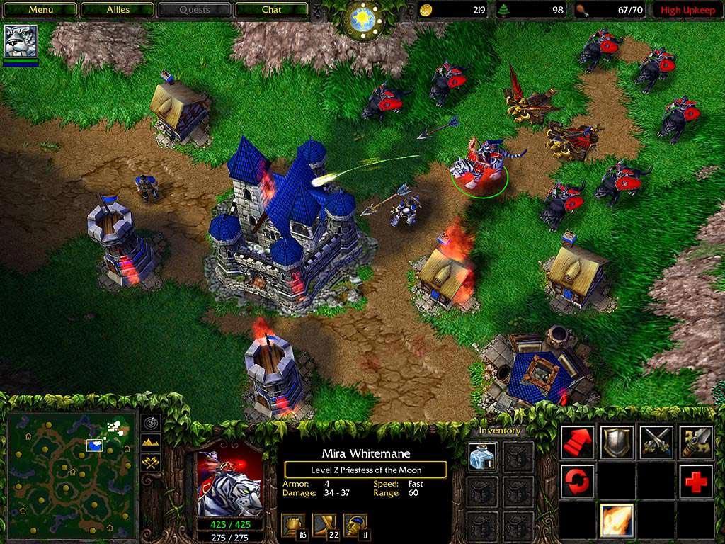 Камера в WarCraft 3