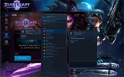 Чат с игроками через ланчер Battle.Net