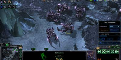 Новые скины юнитов Heart of the Swarm