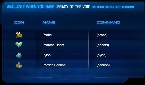 Смайлы StarCraft 2 за покупку Legacy of the Void