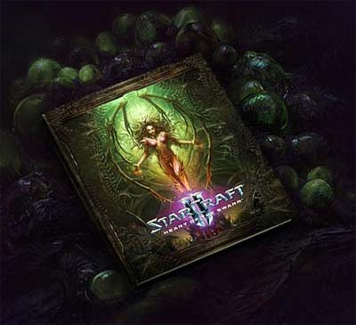 Art Book StarCraft 2 Heart of the Swarm