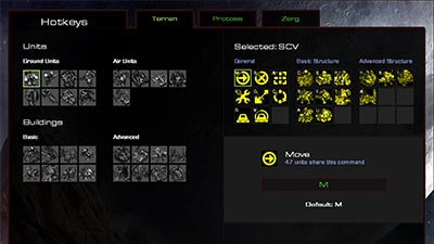 Хоткеи в StarCraft Remasrered