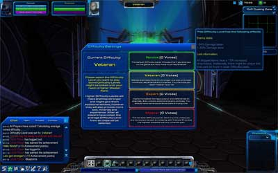 Уровни сложности StarCraft Universe