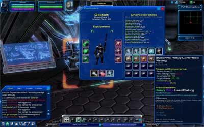 Статистика, экипировка и предметы StarCraft Universe