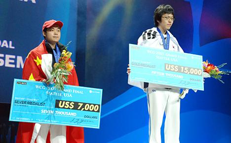 Pj занимает второе место на WCG 2007